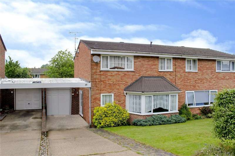 3 Bedrooms Semi Detached House for sale in Wylam, Bracknell, Berkshire, RG12