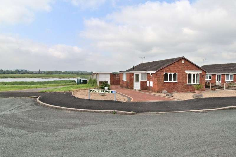 2 Bedrooms Detached Bungalow for sale in CRANBERRY CLOSE, CRESSWELL MANOR FARM, STAFFORD ST16