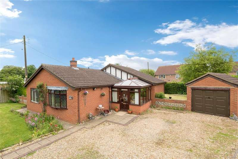 3 Bedrooms Detached Bungalow for sale in Crane Close, Cranwell Village, Sleaford, Lincolnshire, NG34