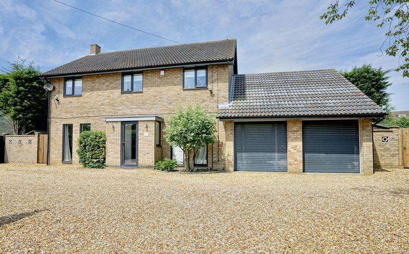 4 Bedrooms Detached House for sale in Kings Ripton Road, Sapley, Huntingdon, Cambridgeshire.