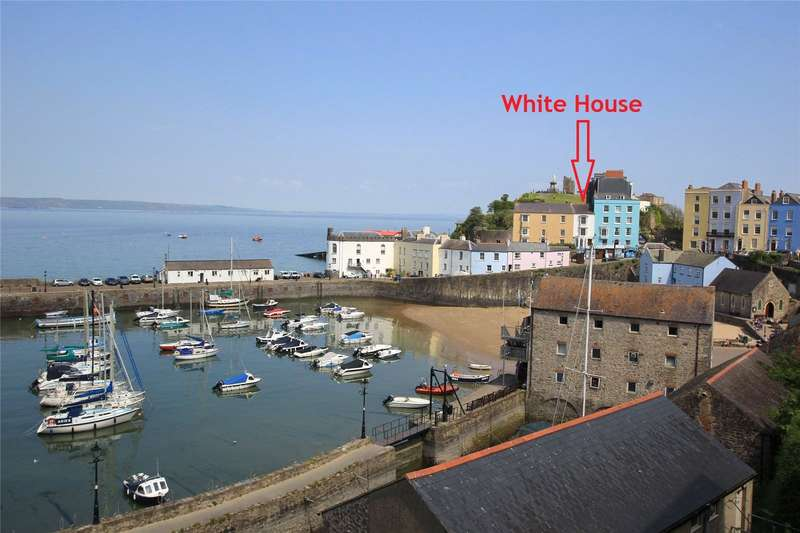 6 Bedrooms Terraced House for sale in White House & Apartment, Castle Square, Tenby, Pembrokeshire