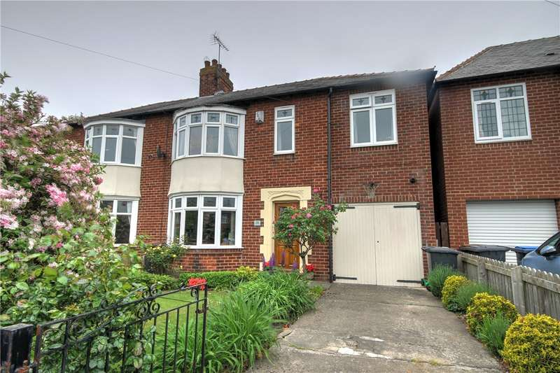 4 Bedrooms Semi Detached House for sale in Lindom Avenue, Holmlands Park, Chester le Street, DH3