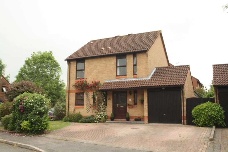 4 Bedrooms Detached House for sale in Nutmeg Close, Lower Earley