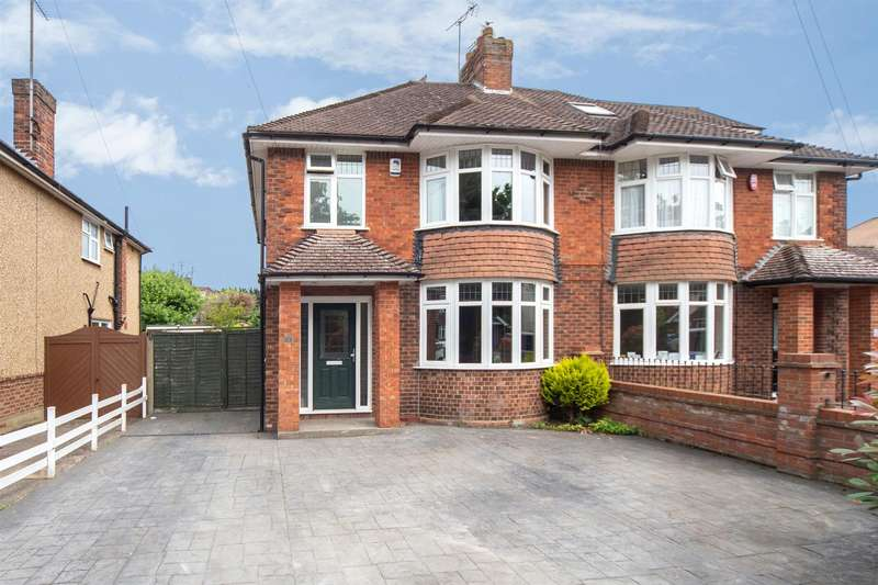 3 Bedrooms Semi Detached House for sale in Kingscroft Avenue, Dunstable