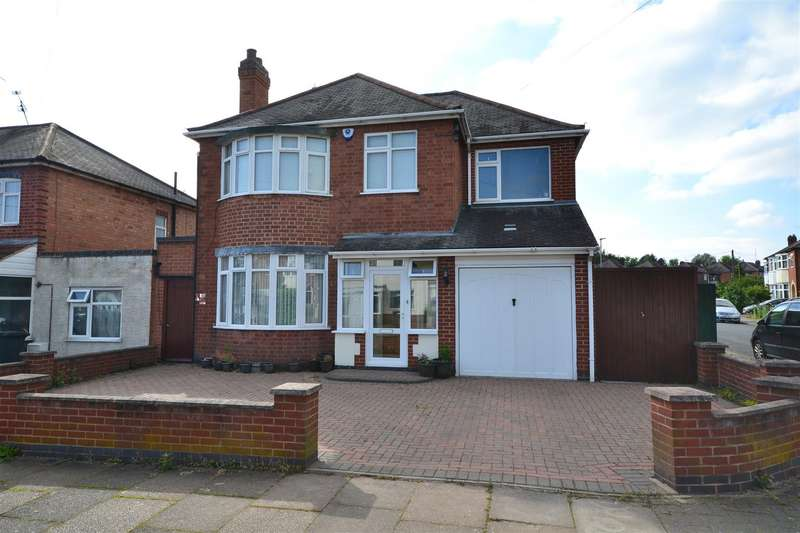4 Bedrooms Detached House for sale in Brinsmead Road, Leicester