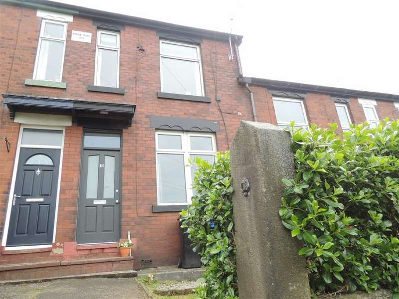 3 Bedrooms Terraced House for sale in Hawk Green Road, Marple, Stockport