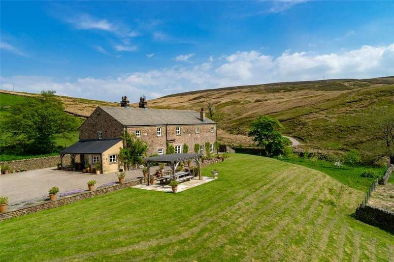 5 Bedrooms Detached House for sale in Slaidburn Road, Newton in Bowland, Clitheroe, Lancashire, BB7