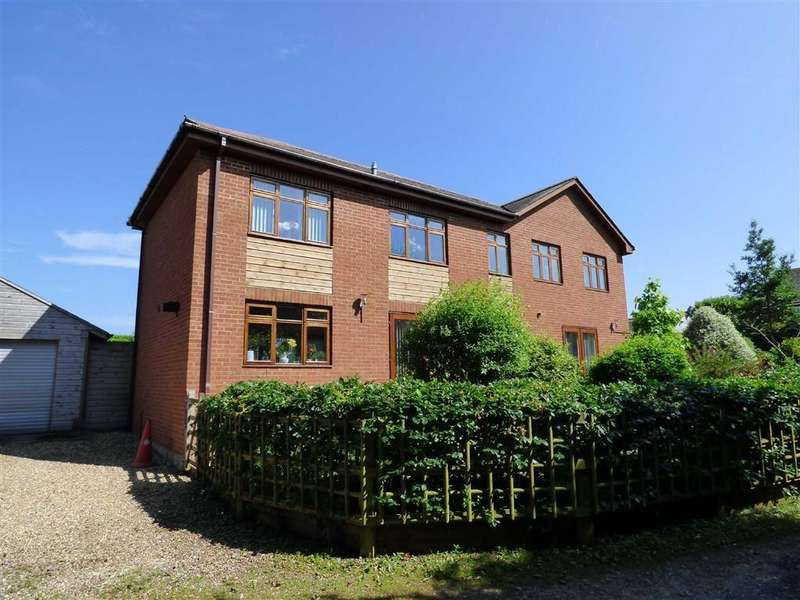 4 Bedrooms Detached House for sale in Honiton Road, Cullompton, Devon, EX15
