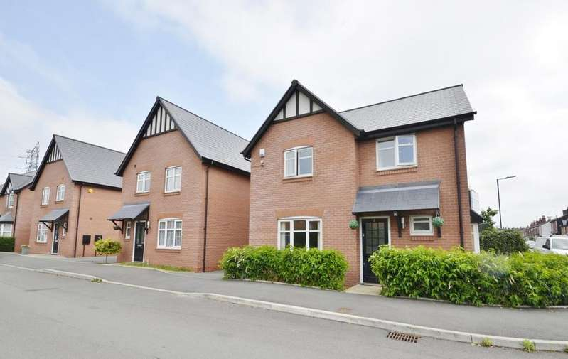 4 Bedrooms Detached House for sale in Jubilee Way, Altrincham