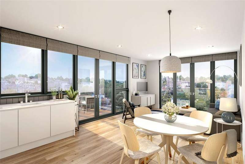 1 Bedroom Penthouse Flat for sale in Apartment 32 New Retort House, Brandon Yard, Lime Kiln Road, Bristol, BS1