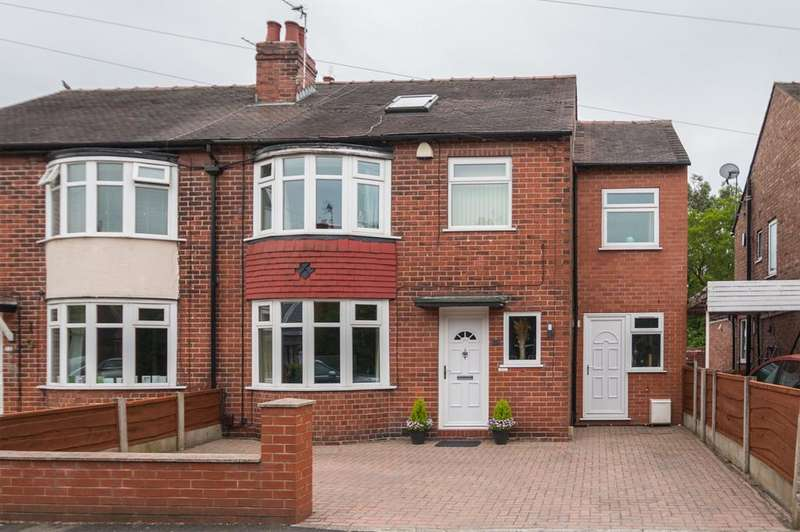5 Bedrooms Semi Detached House for sale in Balmoral Avenue, Urmston, Manchester, M41