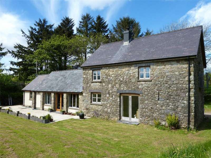 2 Bedrooms Detached House for sale in Ffynon Hafod, Crosslands Road, Tavernspite, Whitland