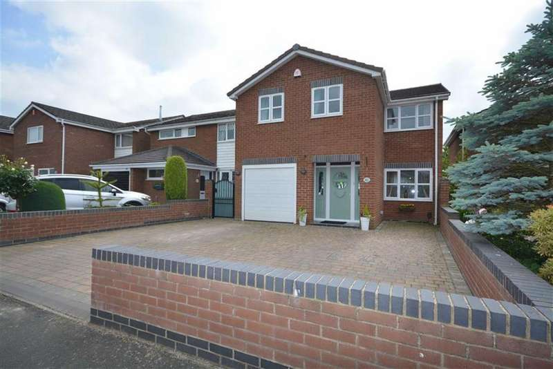 4 Bedrooms Detached House for sale in Claremont Close, Bedworth, Warwickshire