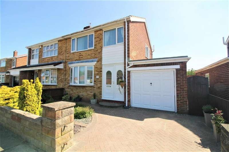 3 Bedrooms Semi Detached House for sale in Liverton Crescent, Thornaby, Stockton-On-Tees
