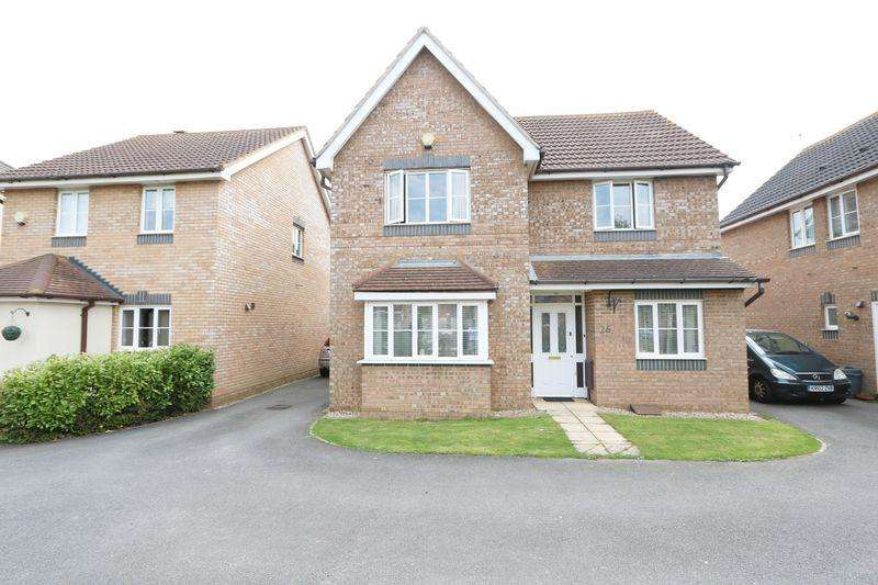 4 Bedrooms Detached House for sale in Blanchland Circle, Milton Keynes