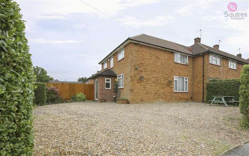 3 Bedrooms End Of Terrace House for sale in Warren Grove, Borehamwood, Hertfordshire