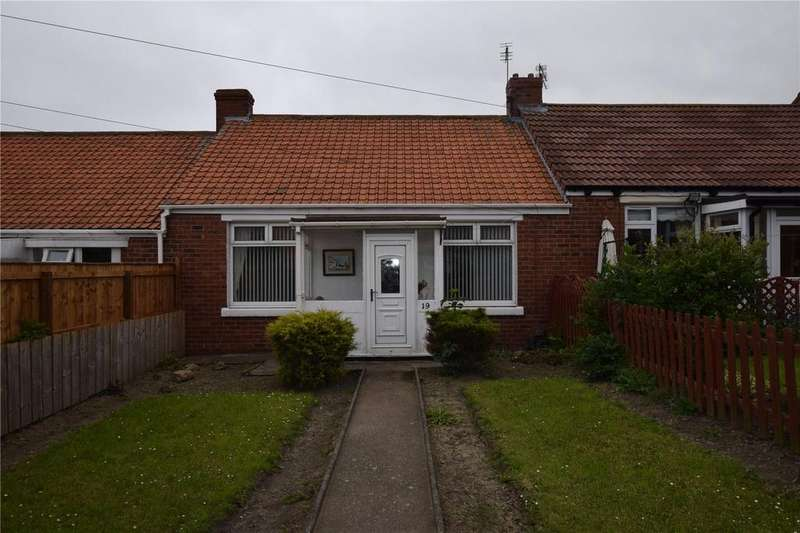 2 Bedrooms Terraced Bungalow for sale in Frank Avenue, Seaham, Co Durham, SR7
