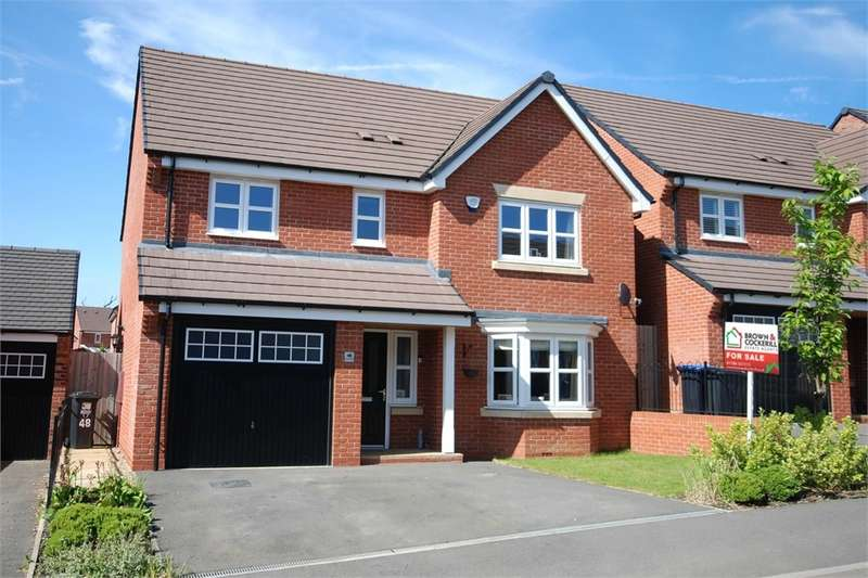 4 Bedrooms Detached House for sale in Aspen Road, Eden Park, RUGBY, Warwickshire