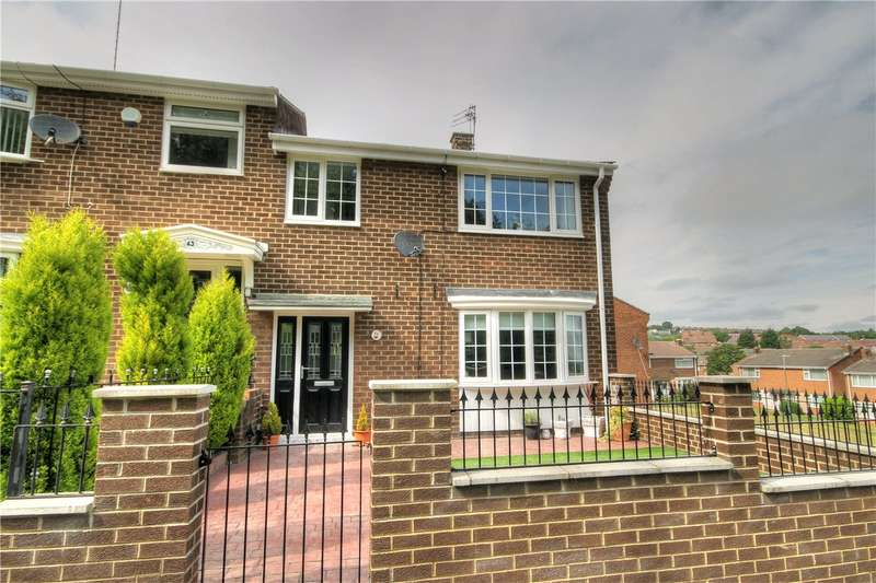 3 Bedrooms Semi Detached House for sale in Southfields, Stanley, Co Durham, DH9