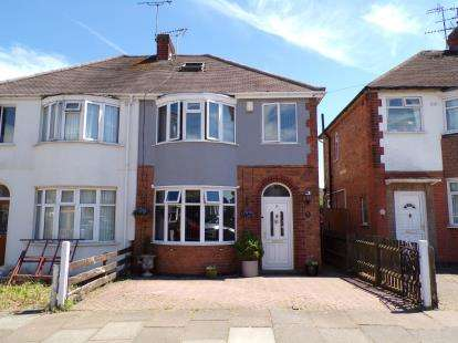 3 Bedrooms Semi Detached House for sale in Bretby Road, Aylestone, Leicester, Leicestershire
