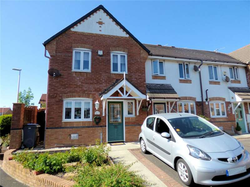 3 Bedrooms End Of Terrace House for sale in Corriander Close, Bispham, Blackpool