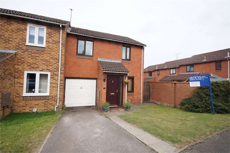 3 Bedrooms End Of Terrace House for sale in Harrington Close, Lower Earley, READING, Berkshire