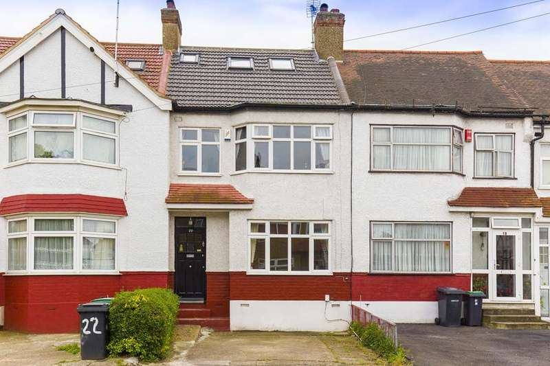 4 Bedrooms Terraced House for sale in Norfolk Close, Palmers Green, London, N13