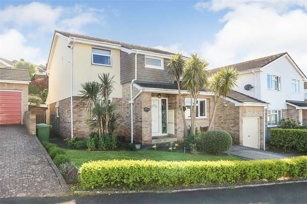 4 Bedrooms Detached House for sale in Lea Mount Close, Dawlish, Devon