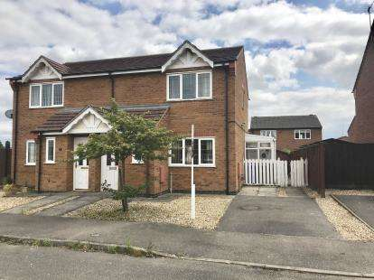 3 Bedrooms Semi Detached House for sale in Manwaring Way, Boston, Lincs, England