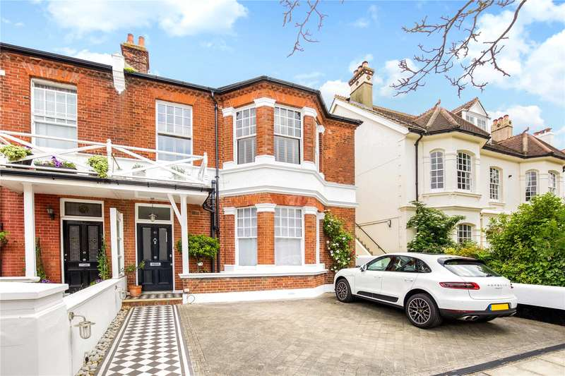 5 Bedrooms Semi Detached House for sale in Sackville Gardens, Hove, East Sussex, BN3