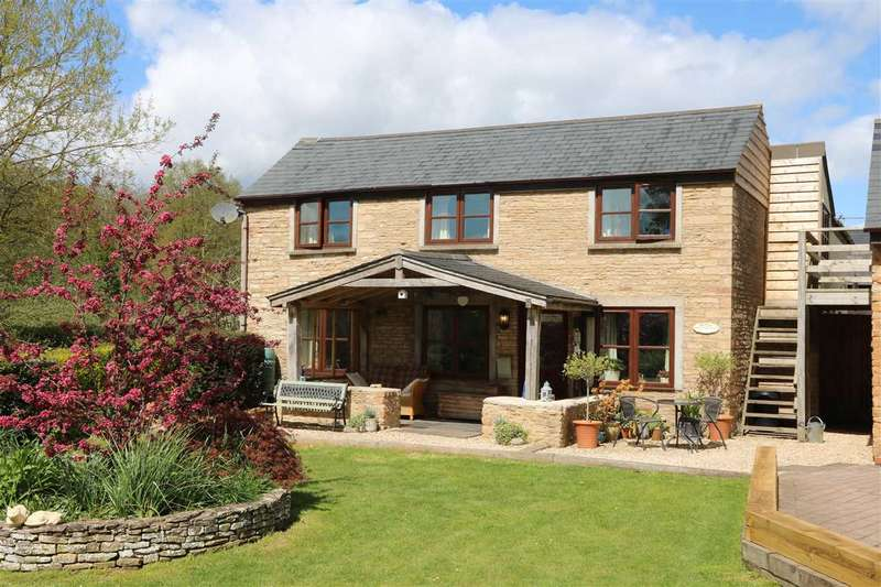 4 Bedrooms Detached House for sale in Gorsley, Boscherville, Ross-on-Wye