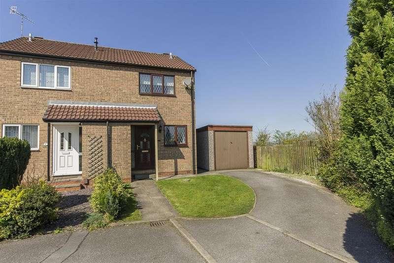 2 Bedrooms Semi Detached House for sale in Birch Kiln Croft, Brimington, Chesterfield
