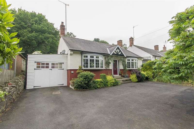 2 Bedrooms Detached Bungalow for sale in Handley Road, New Whittington, Chesterfield