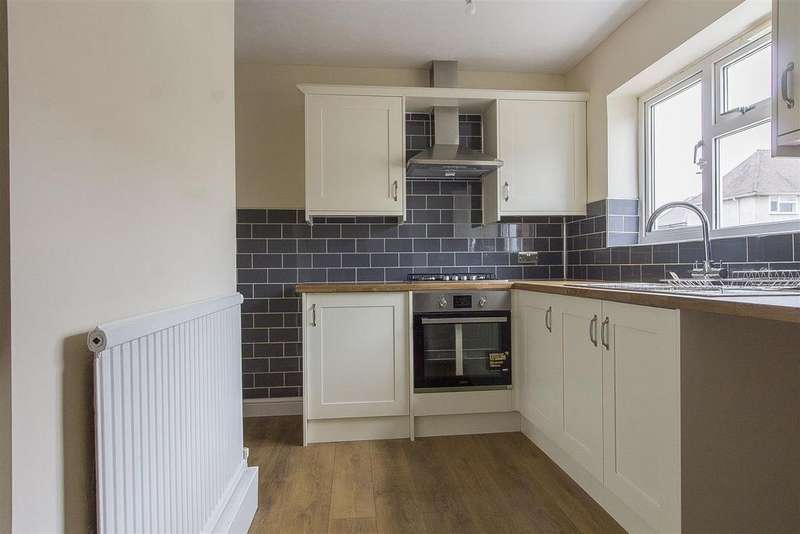 3 Bedrooms Terraced House for sale in Merrion Croft, New Whittington, Chesterfield