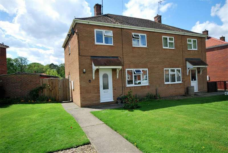 2 Bedrooms Semi Detached House for sale in Gleed Avenue, Donington, Spalding
