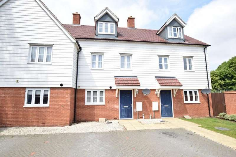 3 Bedrooms Town House for sale in Henry Everett Grove, Colchester, CO2 9FX