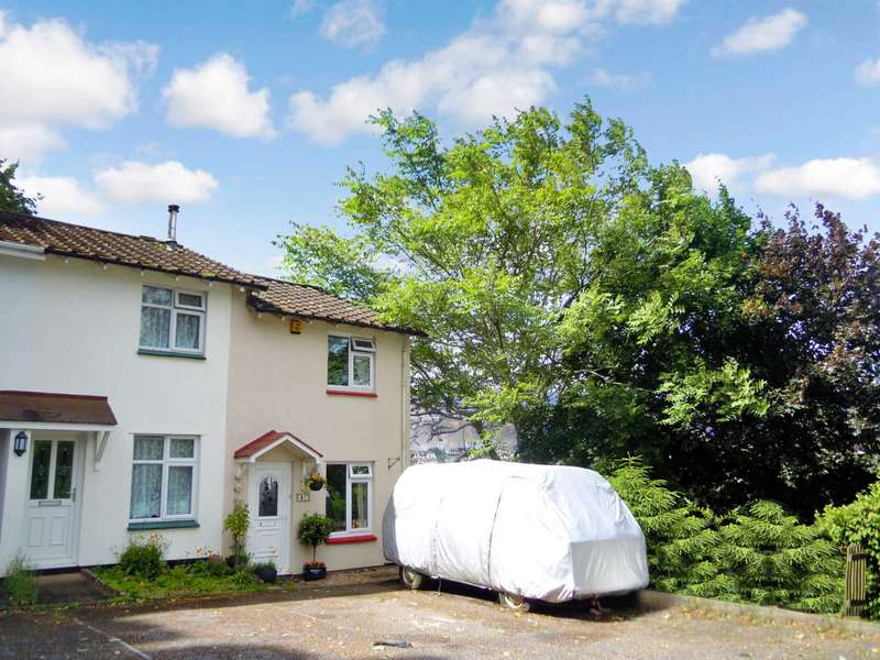 2 Bedrooms End Of Terrace House for sale in Wordsworth Close, Torquay