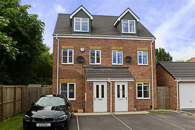 3 Bedrooms Semi Detached House for sale in Corporal Roberts Close, Hemlington