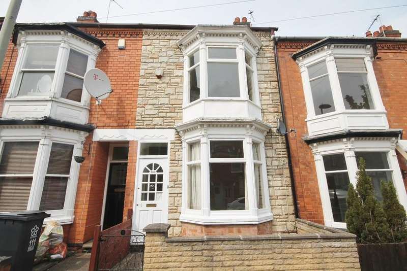 2 Bedrooms Terraced House for sale in Barclay Street, West End, Leicester LE3