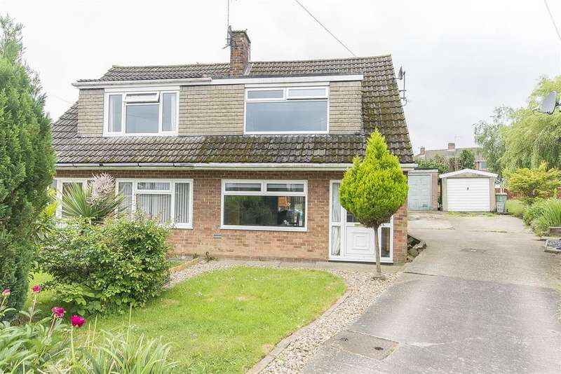3 Bedrooms Semi Detached House for sale in Chesterton Close, Brimington Common, Chesterfield