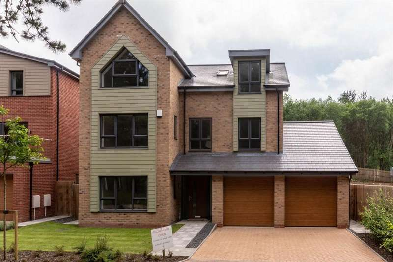 5 Bedrooms Detached House for sale in Fallow Park, Rugeley Road, Hednesford, Cannock, Staffordshire