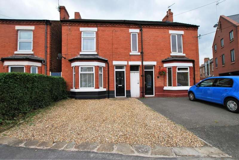 3 Bedrooms Semi Detached House for sale in Vicars Cross, Chester