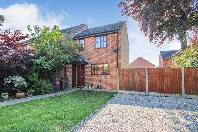 2 Bedrooms End Of Terrace House for sale in Hawthornes Avenue, South Normanton