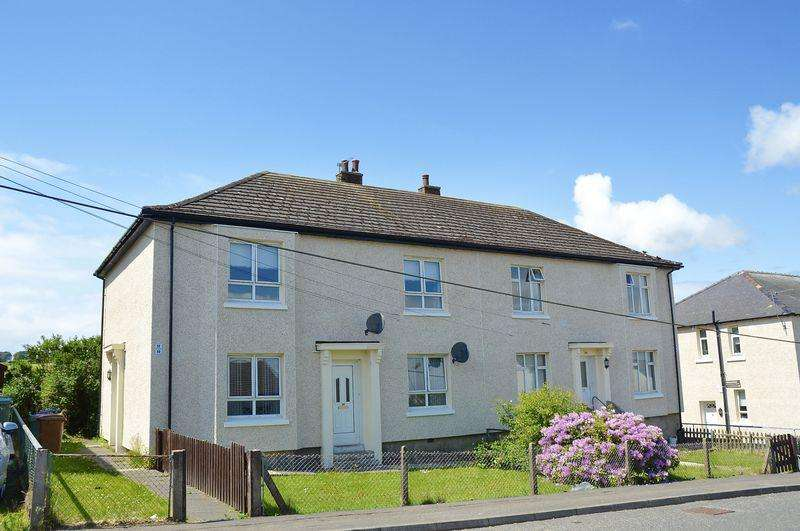 2 Bedrooms Ground Flat for sale in Croft Street, Tarbolton