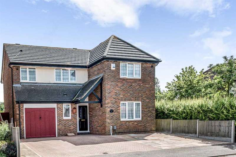 4 Bedrooms Detached House for sale in Kestrel Way, Sandy