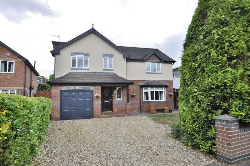 5 Bedrooms Detached House for sale in St Michael's Avenue, Bramhall,