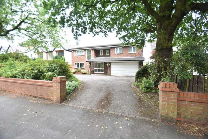 4 Bedrooms Detached House for sale in Moss Lane, Sale
