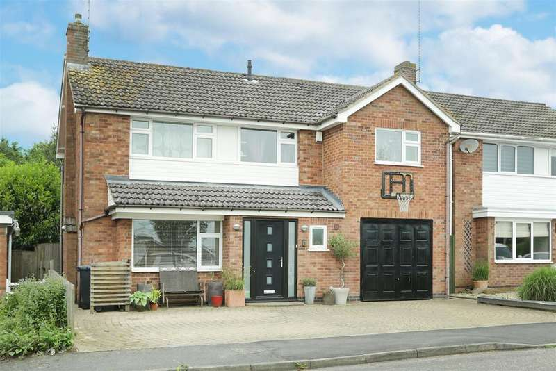 5 Bedrooms Detached House for sale in The Paddock, Kibworth Beauchamp