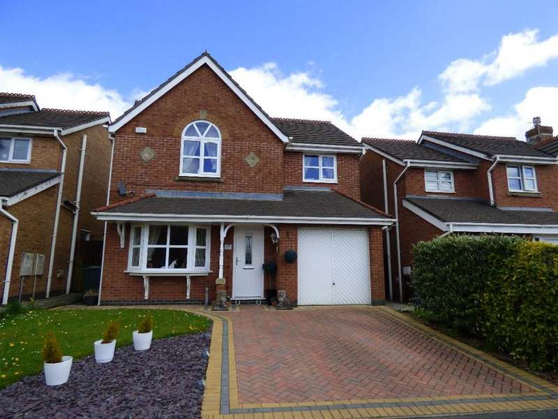 4 Bedrooms Detached House for sale in Waterford Close PR6 9JQ