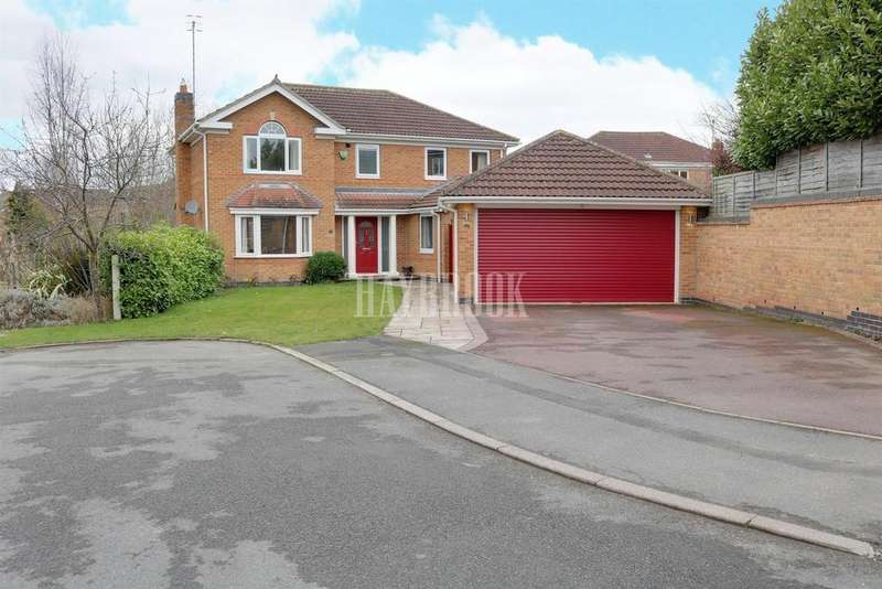 4 Bedrooms Detached House for sale in Glebe View, Barlborough
